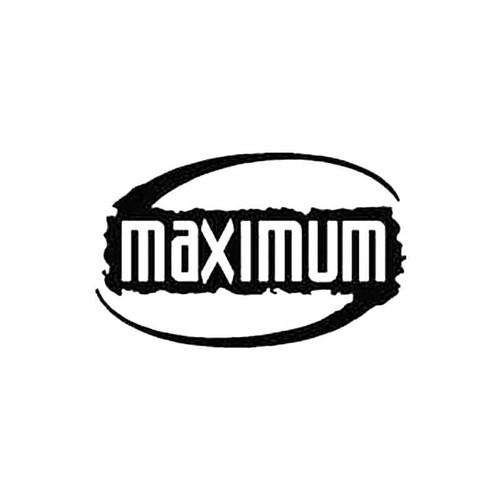 Maximum Sportswear S Decal