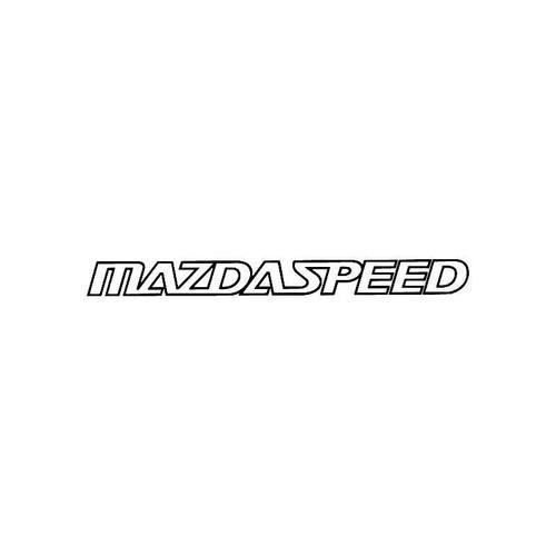 Mazdaspeed Logo Jdm Decal