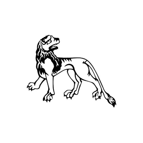 Medieval Lion S Decal