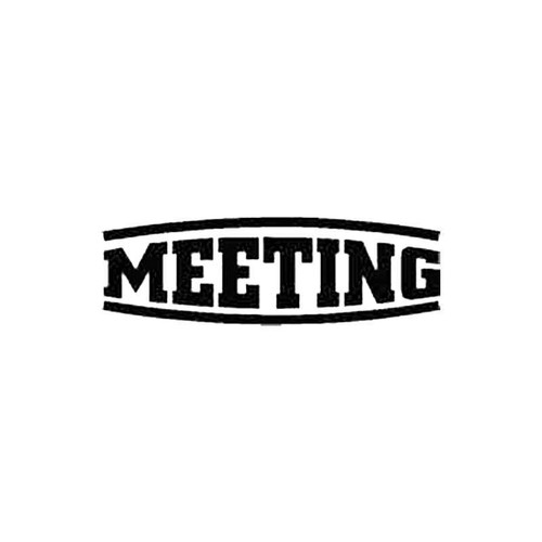 Meeting S Decal