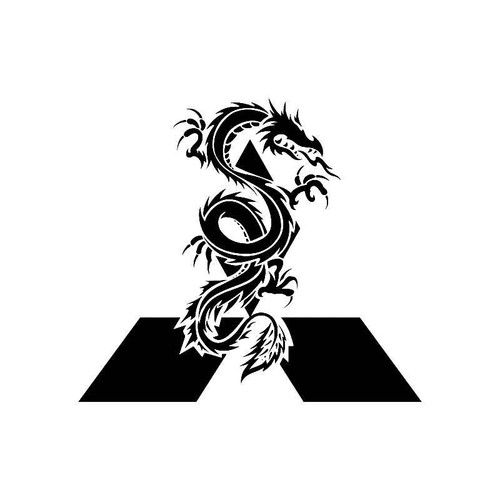 Mitsubishi Dragon Logo Jdm Decal