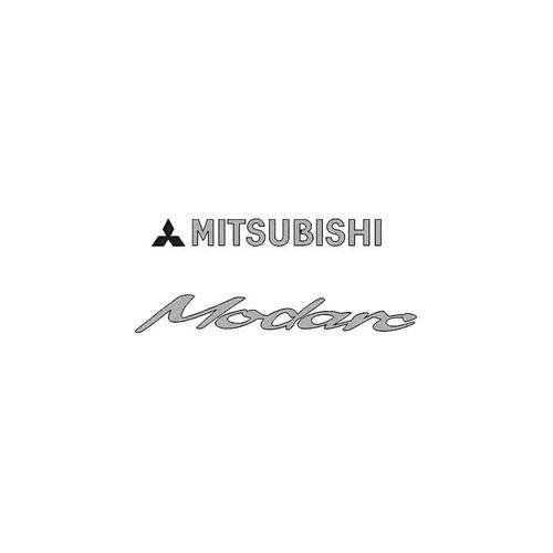 Mitsubishi Modaro Decal