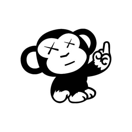 Monkey Finger Jdm Jdm S Decal