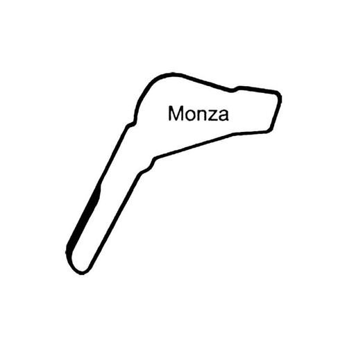 Monza Circuit Racetrack S Decal