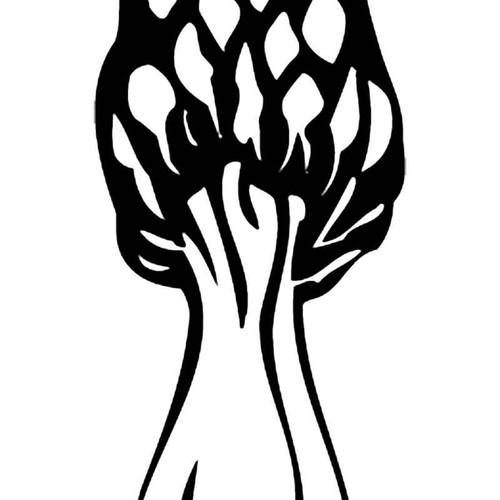 Morel Mushroom S Decal