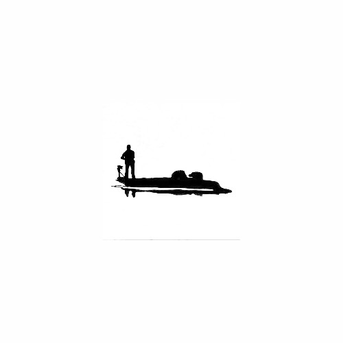 Man In Fishing Boat Decal Size option will determine the size from the longest side Industry standard high performance calendared vinyl film Cut from Oracle 651 2.5 mil Outdoor durability is 7 years Glossy surface finish