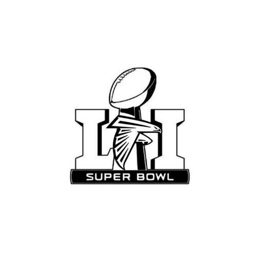 Nfl Super Bowl Li Atlanta Falcons Decal