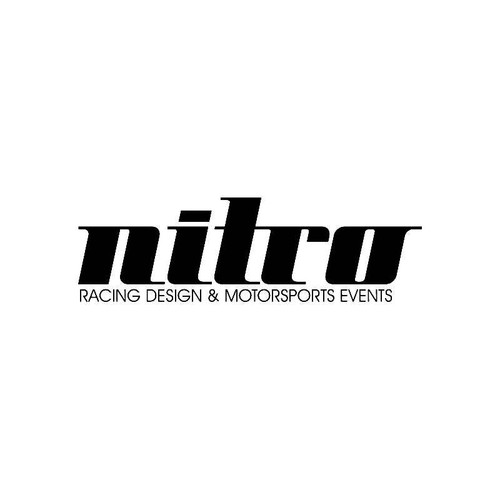 Nitro Racing Design Logo Jdm Decal