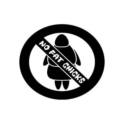 No Fat Chicks 2 Jdm Jdm S Decal