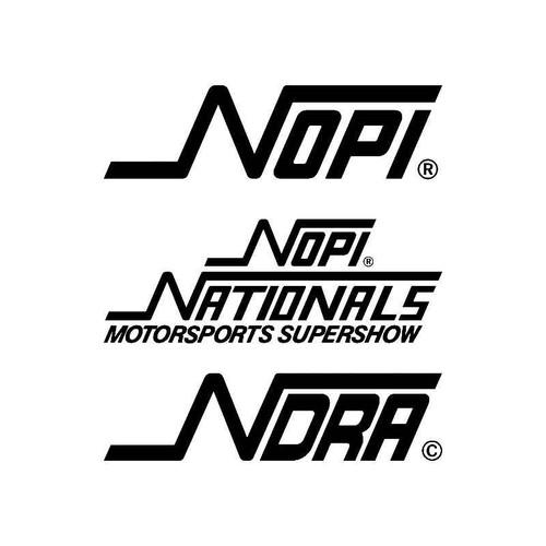 Nopi2 Logo Jdm Decal