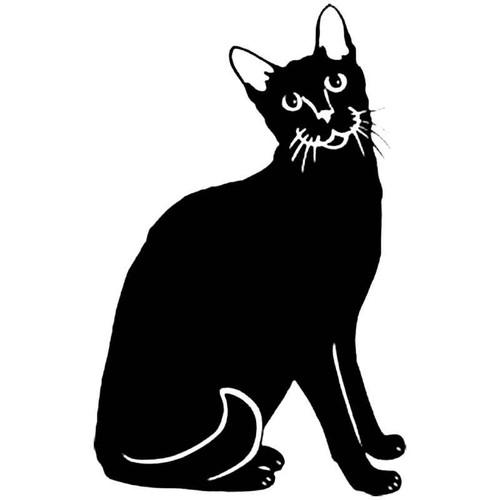 Oriental Cat S Decal