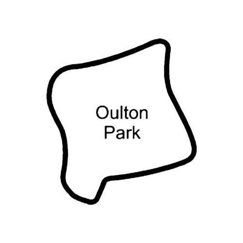 Oulton Park Circuit Racetrack S Decal