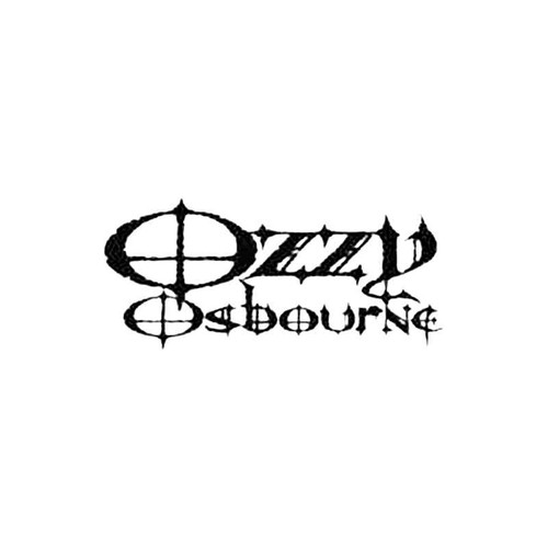 Ozzy Osbourne S Decal