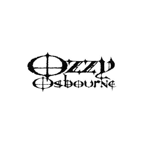 Ozzy Osbourne S Decal