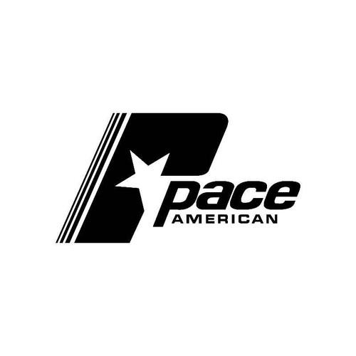 Pace American Logo Jdm Decal