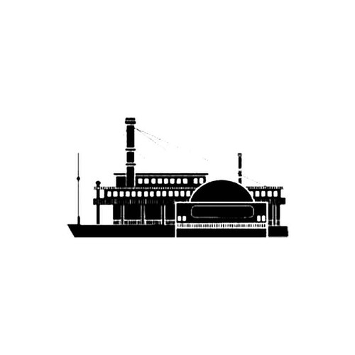 Paddle Steamer S Decal