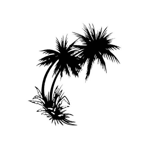 Palm Tree B S Decal