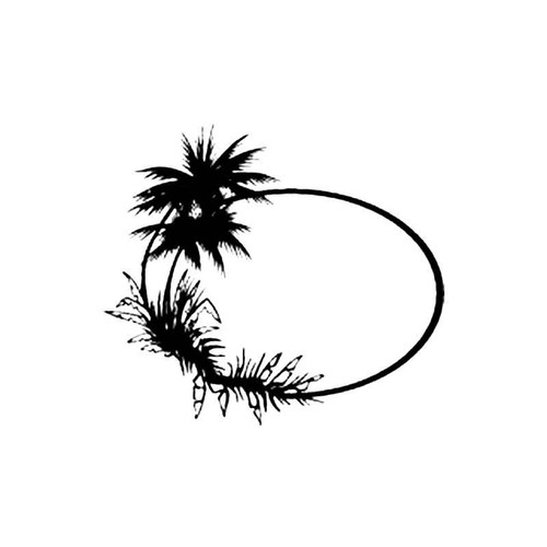Palm Tree S Decal