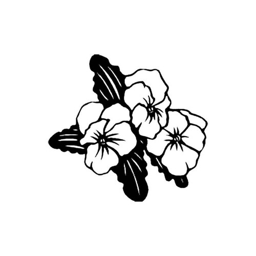 Pansy B S Decal