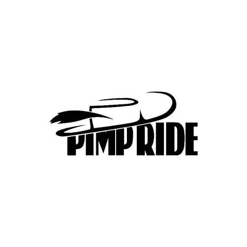 Pimp Ride Decal