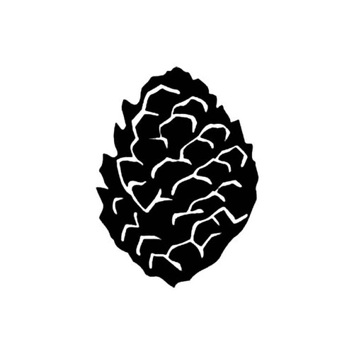 Pine Cone S Decal