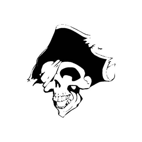 Pirate Skull S Decal