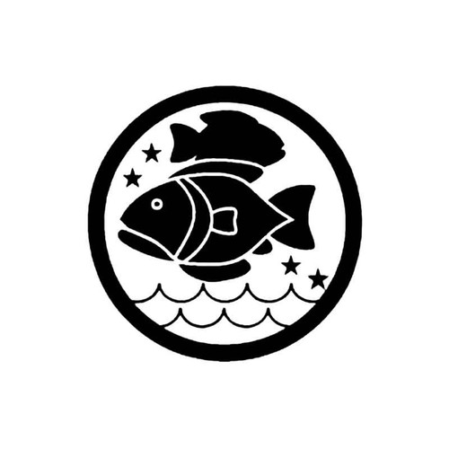 Pisces D S Decal