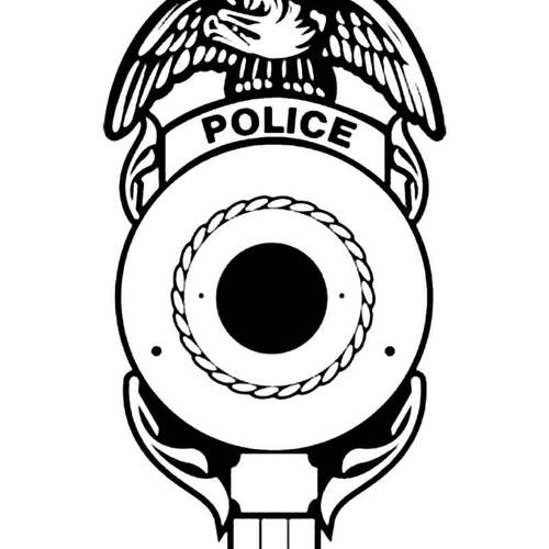 Police Shield D S Decal