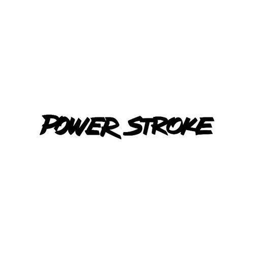 Power Stroke Logo Jdm Decal
