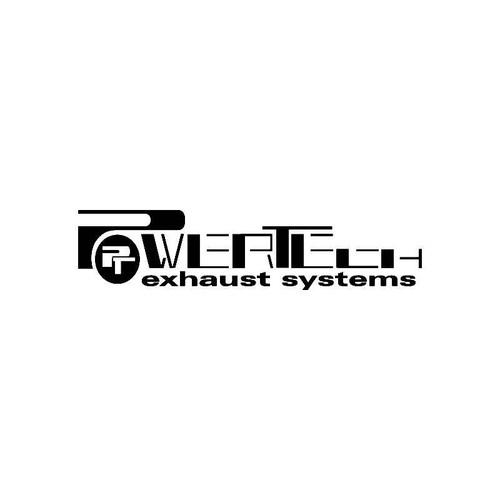 Powertech Exhaust Systems Logo Jdm Decal