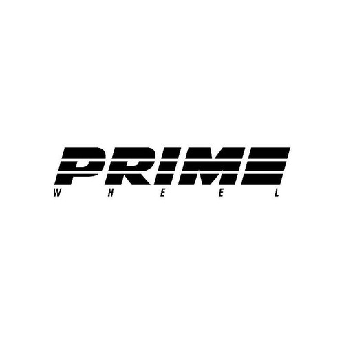 Prime Wheel Logo Jdm Decal
