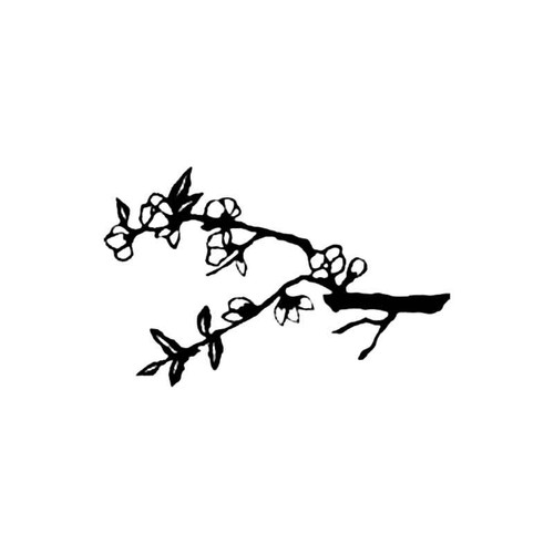 Quince Branch S Decal