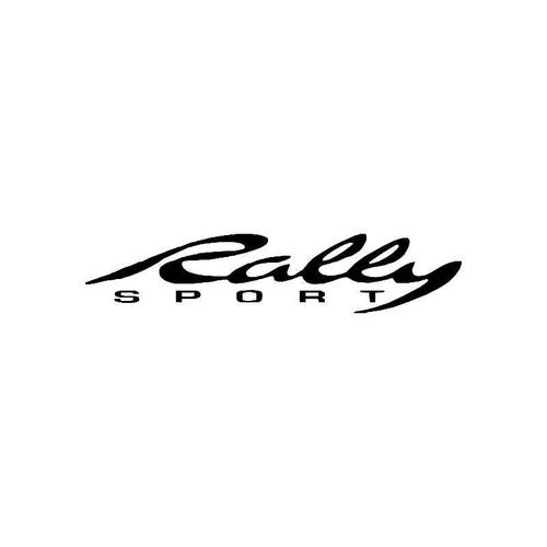Rally Sport Logo Jdm Decal