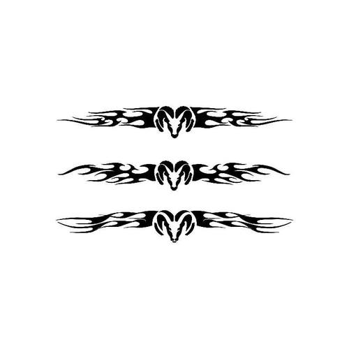 Ram Flame Logo Jdm Decal