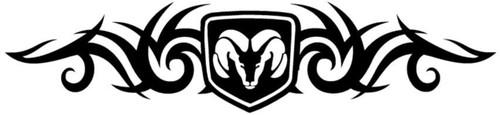 Ram Shield Tribal