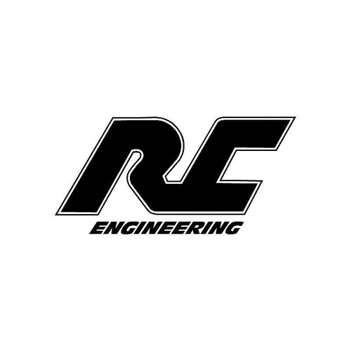 Rc Engineering Logo Jdm Decal