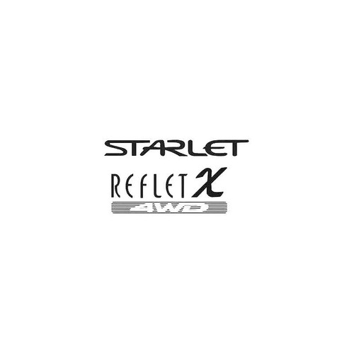 Reflet X Decal