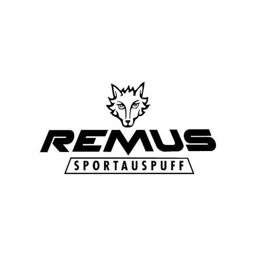 Remus2 Logo Jdm Decal