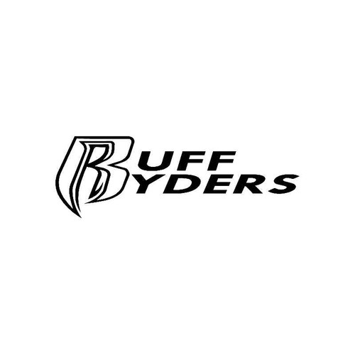 Ruff Ryders Logo Jdm Decal