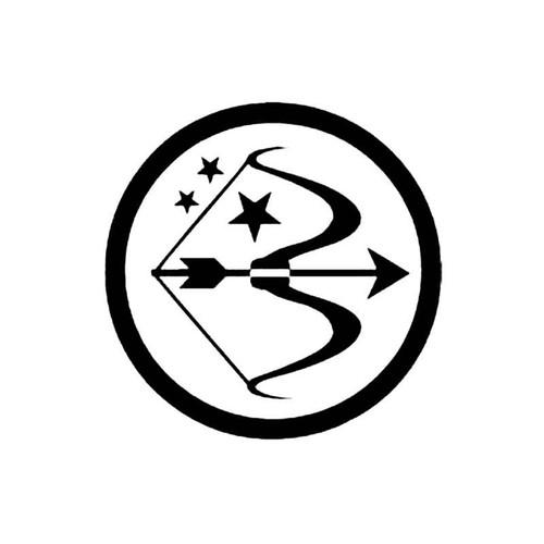 Sagittarius D S Decal