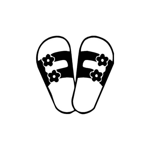 Sandals 5 Decal