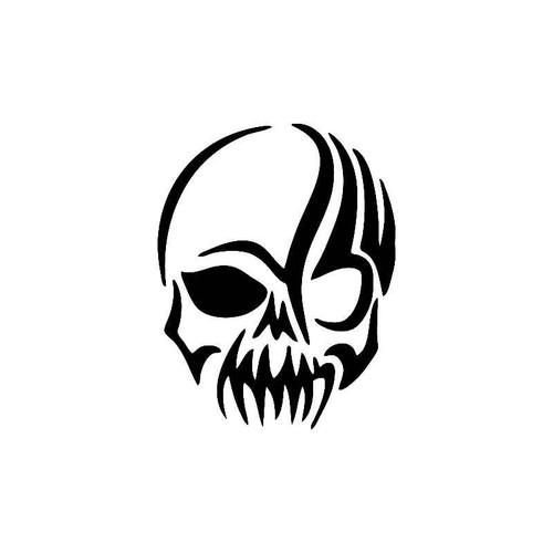 Sy Tribal Skull Decal