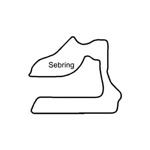 Sebring International Raceway Circuit Racetrack S Decal