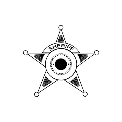 Sheriff Shield D S Decal