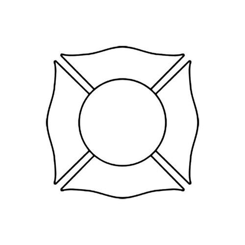 Shield B S Decal