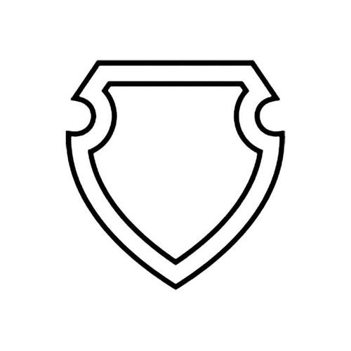 Shield J S Decal