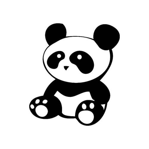 Sitting Panda Jdm Jdm S Decal