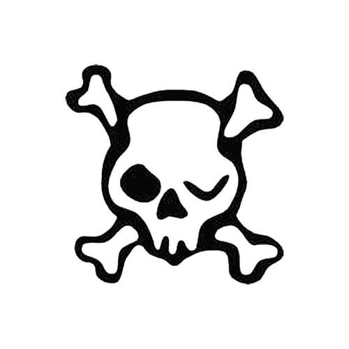 Skull Ag S Decal
