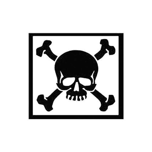 Skull Ah S Decal