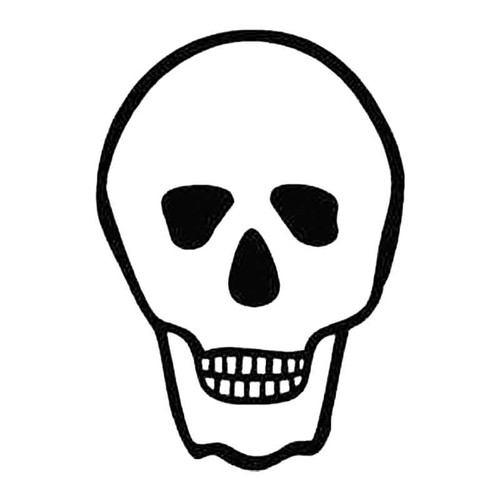 Skull Al S Decal